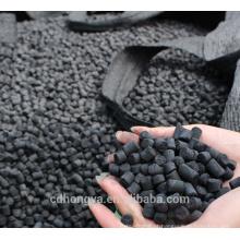 o carvão ativado impregnado da pelota de carvão para o tratamento do ar remove H2S / CO / CO2