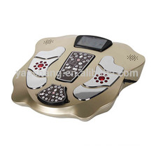 Electric acupuncture TENS electrode pads LCD display foot warmer with massage