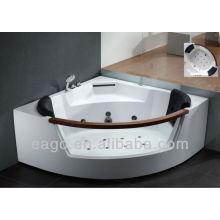 EAGO corner Whirlpool massage bathtub with pillow AM197JDTS-1Z