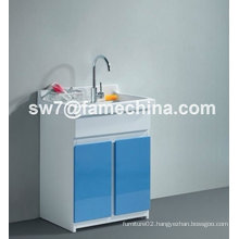 2012 hot design laundry cabinet PVC