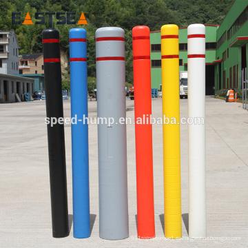 Venta al por mayor de plástico al aire libre Road Bolardo cubierta poste mangas