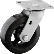 Heavy Duty Rubber on Iron Core Casters