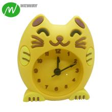 Multi-Colors Promotional Item Silicone Decoration Clock