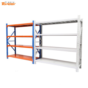 adjustable iron 4 layer shelf rack for storage system