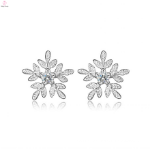 Guangzhou Zirconia 925Sterling Silver Stud Earrings