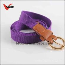 2014 Durable Fashion Purple Canvas Belt