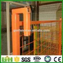 GM Chine fournisseur de haute qualité slaes chaud PVC enduit de clôture provisoire canada