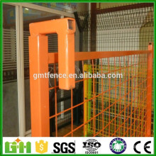 Powder coated hot galvanized portable 6ft temporary no dig fence panels
