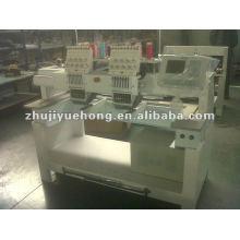 Máquina doble del bordado del casquillo de las cabezas de YUEHONG para la venta