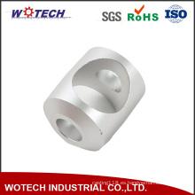 ISO 9001 pasó la pieza de torneado que trabajaba a máquina del CNC de aluminio