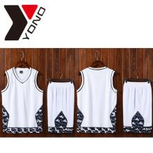 Poliéster 100% feito sob encomenda barato novo da camisa do esporte do homem do jérsei de basquetebol