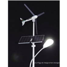 Wind Solar Beleuchtung Stahl Post