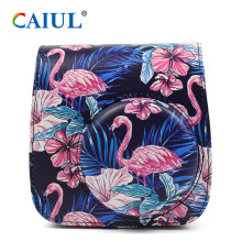 PU Flamingo Forest Instax Mini 9 Camera Case