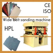 Machine à brosser stratifié à haute pression / Machine à griller HPL / machine à poncer pour HPL