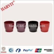 Pots à fleurs colorés / petits planchers intérieurs à petite taille de 2 pouces et pots à fleurs / différents types Mini pots à fleurs en céramique