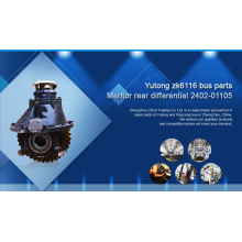 hot sale 2402-01105 Meritor rear differential for yutong bus