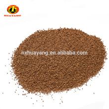 Filtre professionnel de dégrillage de coquille de noix de dégraissage pour l'adsorption d'huile