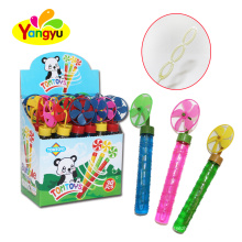 High quality long stick windmill toys soap bubble toy
