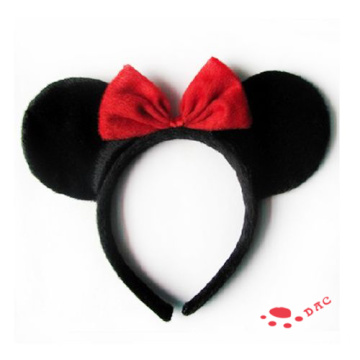 Disney Personnages Mickey cheveux en peluche Clips