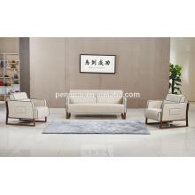 Golden quality modern leather PU sofa design for sale 07