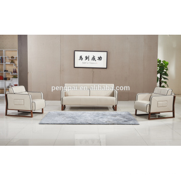 Golden quality modern leather PU sofa design for sale 05
