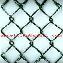 1 fio de elo da cadeia de arame de malha de arame de diamante de malha de arame galvanizado