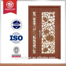 Puerta de puerta de puerta de acero puerta de diseño puerta de seguridad para la venta
