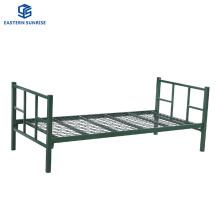 Hot Sale Workers Hospital Steel Beds Metal Furniture Single Bed