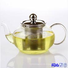 Glas-hitzebeständige Teekanne (XLRH-006G 600ml)