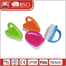 2010 New design plastic scrub brush w/handle