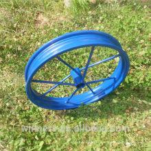 ruedas de carro de poni sulky soldadas / carrito de caballo