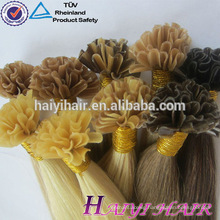 Hot Selling New Arrival Wholesale Remy Double Drawn Hair U Tip Hair