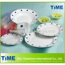 Service de vaisselle en céramique de style chinois