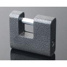 Full-Sheel Steel Cover Rectangular Cadeado / cadeado com chaves de computador