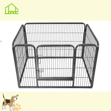 Black square pipe welded mesh fence