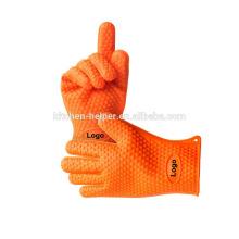 FDA Custom высокого качества силиконовые перчатки BBQ для приготовления выпечки гриль Potholder / силиконовые гриль печь BBQ перчатки / Mitt печи