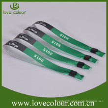 Best selling promotion wristband free sample,printing wristband