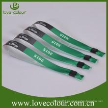 Самый лучший продавать wristband промотирования свободный образец, wristband печатания