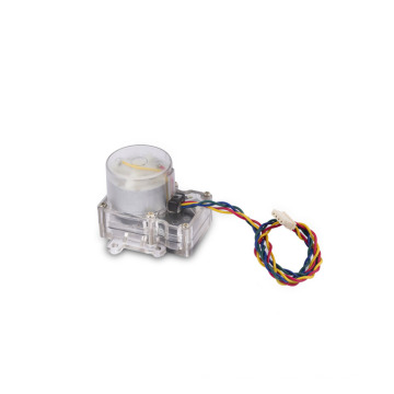 12 volt permanent magnet  micro gear dc motor(km-36f1-500) for water meter and water pump