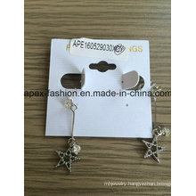 Fashion Five Star Earring Fashion Jewellery