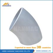 Long radius 5083 aluminum alloy elbow