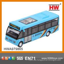 1:64 Diecast Bus Pull Back Auto 6PCS / BOX