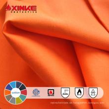 100% Baumwolle Flammschutzmittel für Arbeitskleidung
