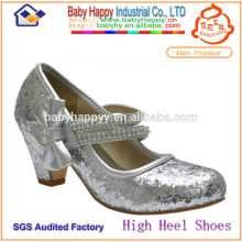Promotion korean fashion kids glitter shoes GIRLS