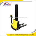 1 ton 1.6m 1.95m walkie electric stacker battery stacker