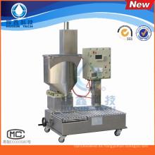 Embotelladora pequeña máquina llenadora de líquidos en línea
