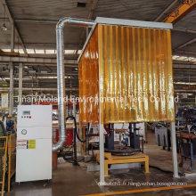 Collecteur de poussière à cartouche d'installation verticale du filtre à air