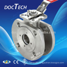 Wafer Ball Valve With ISO5211 High Mounting Pad PN16