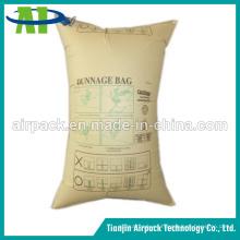 Bolsa de Dunnage del aire de la almohadilla del envase de papel de Brown Reutilizable de alta presión