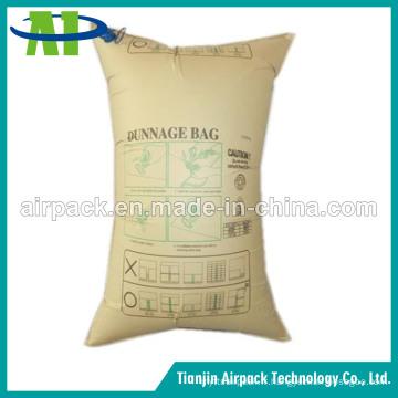 Sac réutilisable à haute pression de sac d'air d'oreiller de récipient de papier de Brown